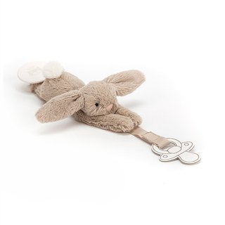 Jellycat Bashful Beige Dummy Holder