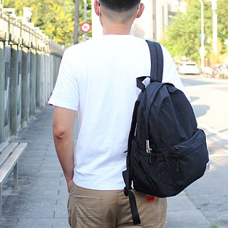 Backpack with anti-water storage after storage - black _100168