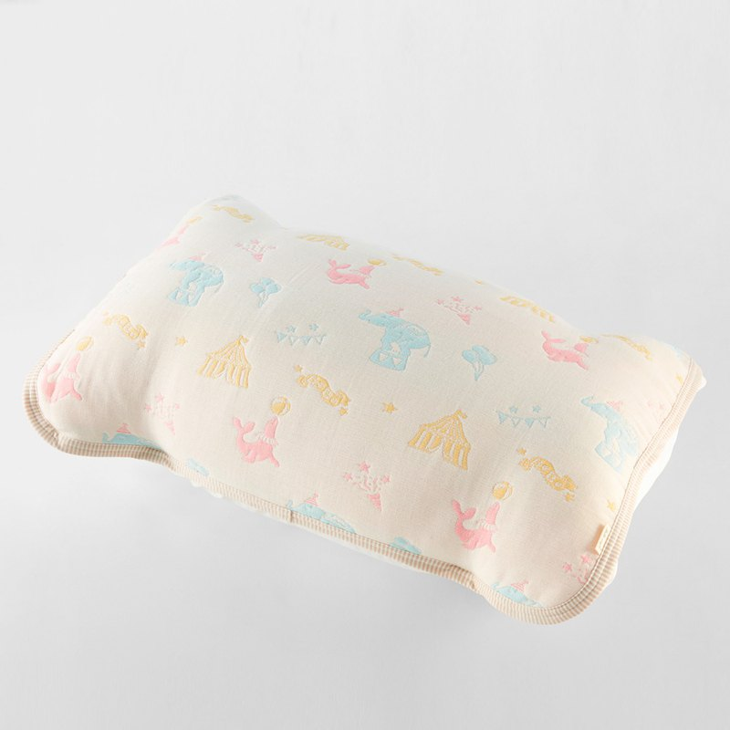 [Mr. Sanhe Kapok] six-fold yarn pillowcase - Dream Tongle Circus