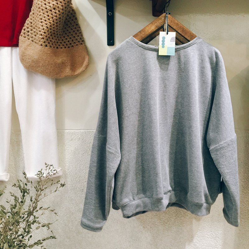 RH clothes / Peng Peng sleeves / linen gray