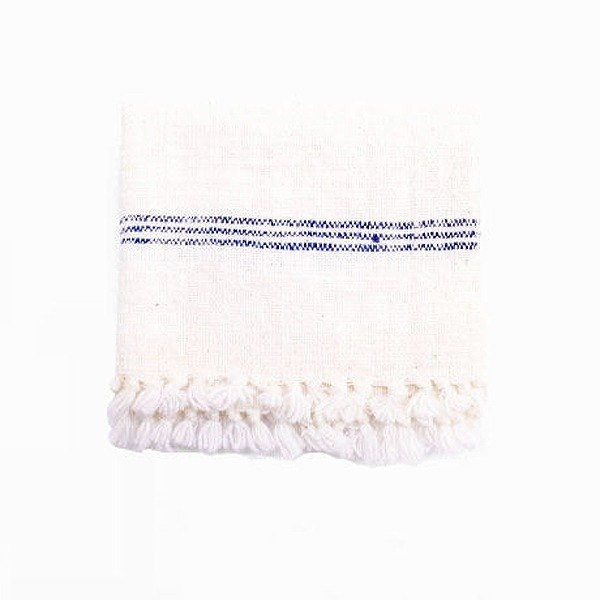 Handspun kitchen towel (blue)