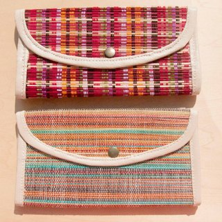 Valentine's Day Handbags / Handbags / Handbags / Handbags / Wallets / Wallets - Rainbow Boho Color Gradually Bamboo Cotton Bags (Large)