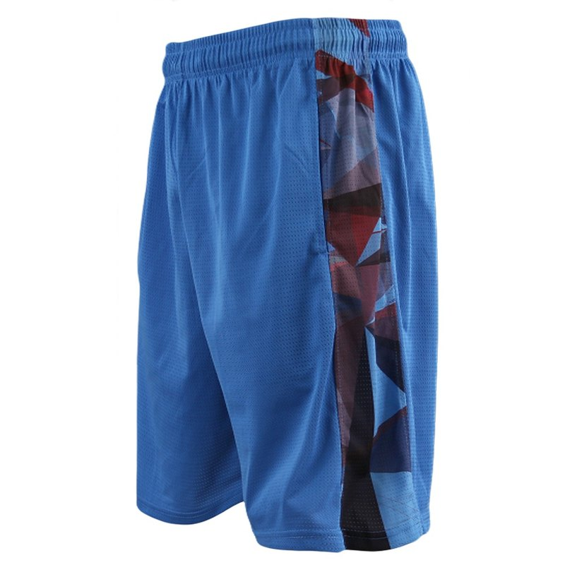 Tools fearless side heat sublimation basketball uniform #blue# basketball pants