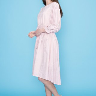 City waist cut long dress 123603N