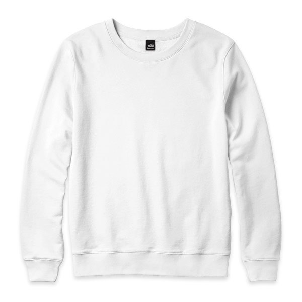 University of plain long-sleeved T-shirt - White