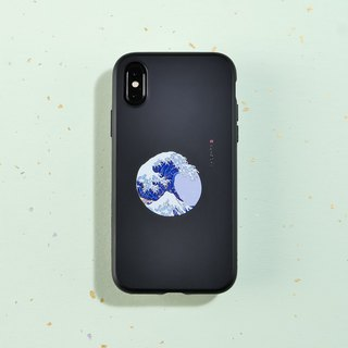 SolidSuit經典防摔手機殼/浮世繪系列-湧 for iPhone 系列