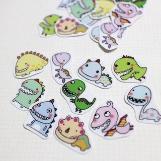 Mini Sticker Pack_Little Dinosaur (20 in)