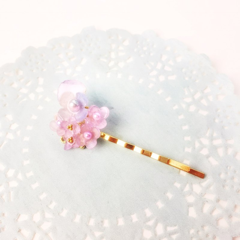Little Hydrangeas Hairpin