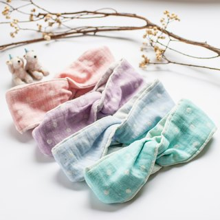 [My little star] staff hand cotton candy 100% organic cotton four yarn band