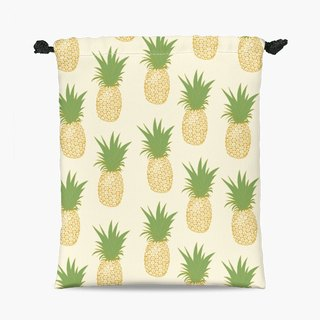 Drawstring Pouch - Pineapple Gold