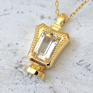 Perfume bottle necklace (YG type)