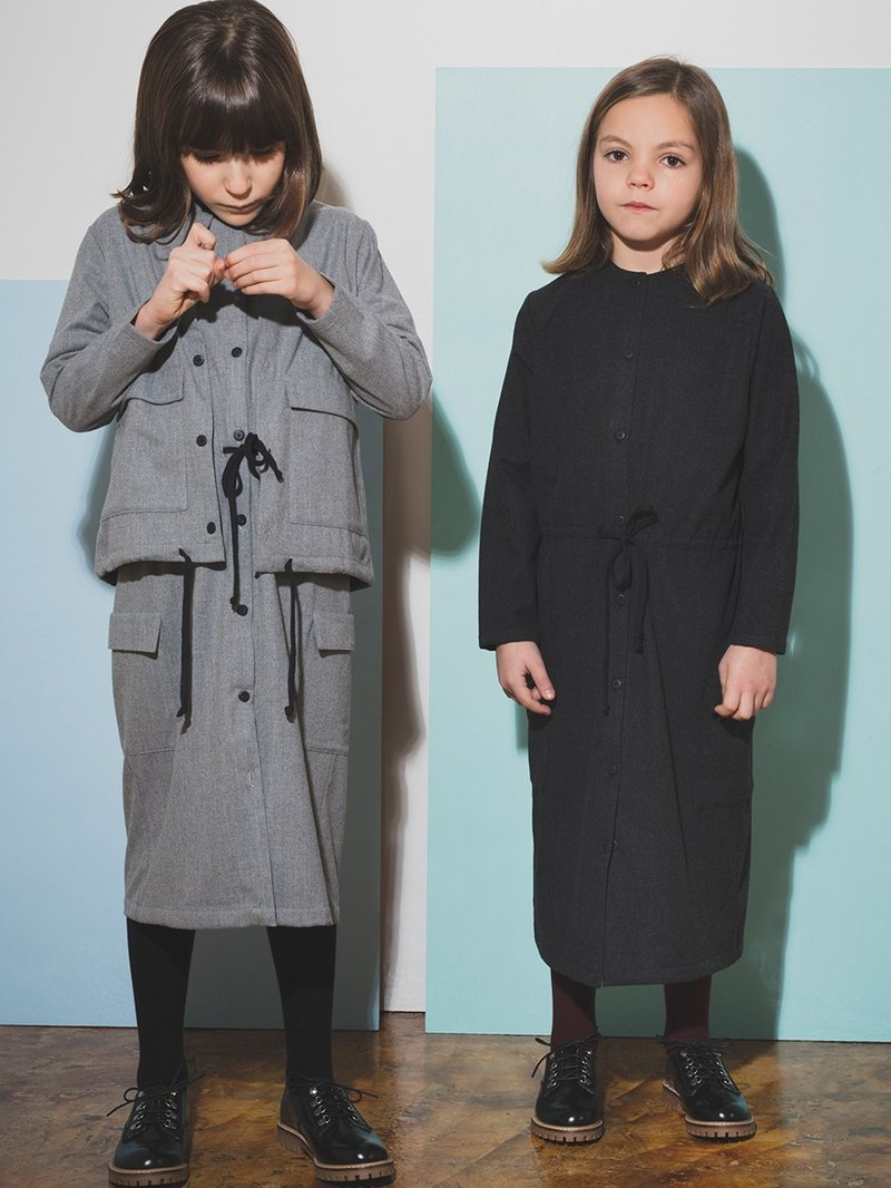 Maxi Dress Dark Gray 4-5Y