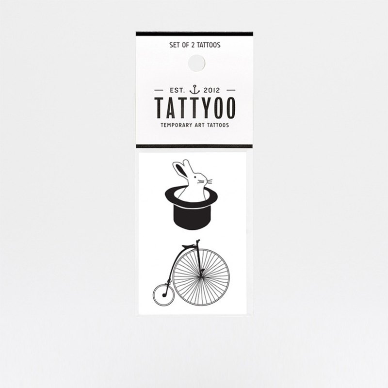 Magic tricks tattoos sticker | TATTYOO