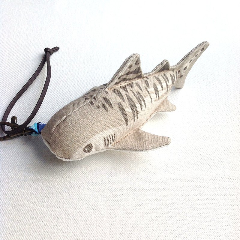 Design No.GC1512 - 【Cotton Canvas】Tiger Shark Charms