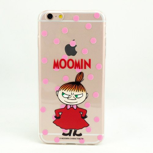 "Moomin Moomin genuine authority -TPU phone case: [Grumpy Little] ""iPhone / Samsung / HTC / ASUS / Sony / LG / millet / OPPO"""