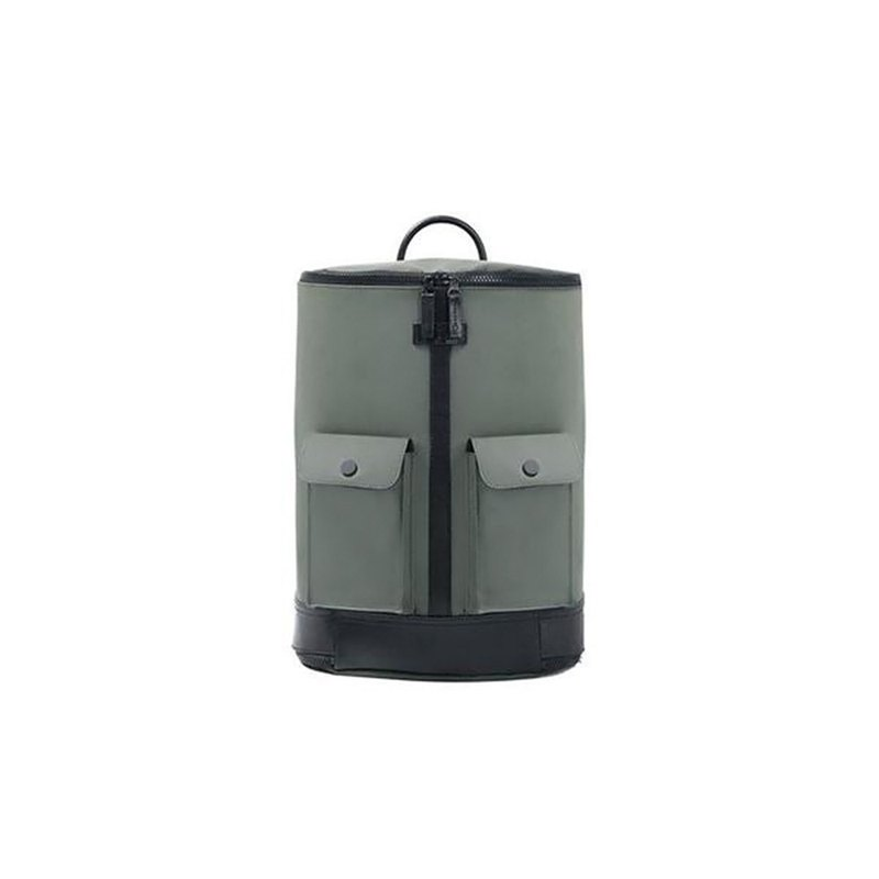 FREQUENT FLYER Captain Rear Backpack (S) - Army Green