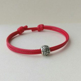 "Lucky Pray for ""Six Characters Big Mantra"" Korean Wax Line Bracelet ***"