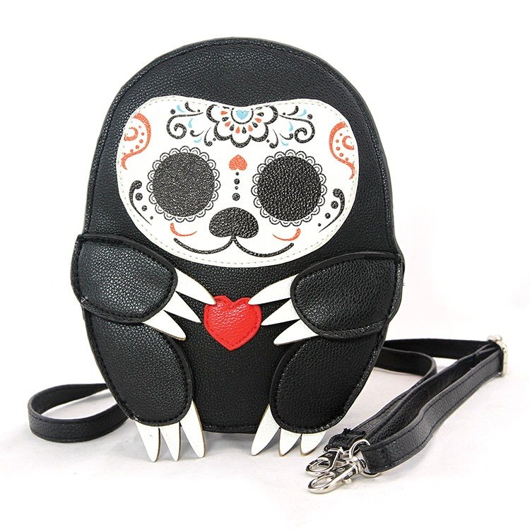 Sleepyville Critters - Sugar Skull Sloth Crossbody Bag