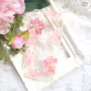 Pressed flower phone case - Blooming for iphone 5/5s/SE/6/6s/6 plus/6s plus/7/7plus/Samsung S4/S5/S6/S6Edge/S7/S7Edge/Note3/Note4/Note5