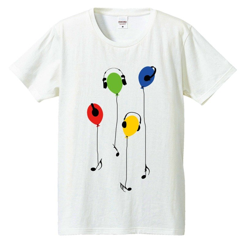 [Tシャツ]Music Balloon