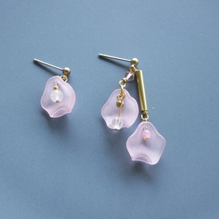 Blossom - earring  clip-on earring