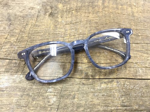 Absolute Vintage - Ladder Street (Ladder Street) rectangular frame plate glasses Young - Gray Gray
