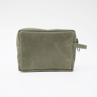 Mushroom MOGU/canvas storage bag/military blanket green/bubu bear