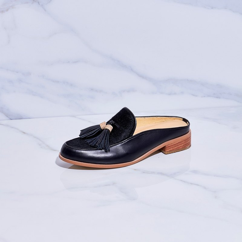 0238cad4774 BLACK - Willow Mule Loafers - Designer make a move