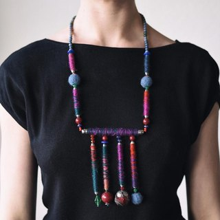 Elegant handmade neckless, unique beaded necklaces