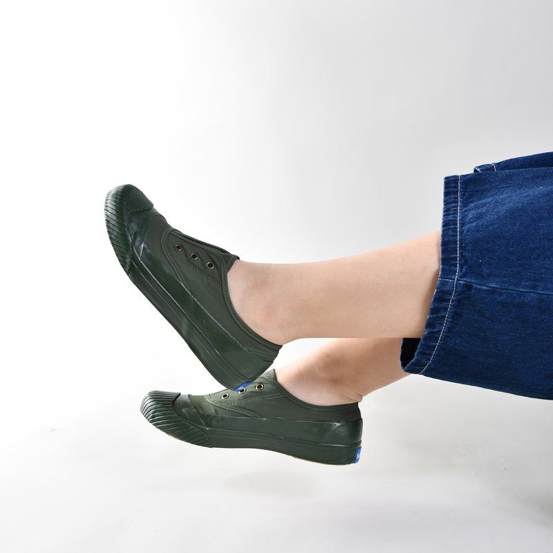 Rainy days are not afraid of waterproof shoes 30% off free / imperfect appearance / FREE+ / casual shoes / personality green