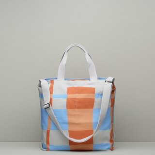 JainJain bicycle bag / waterproof paint orange blue