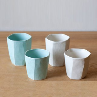 TOJIKI TONYA Mino Tochigi hex cup (two colors available)