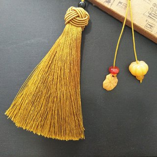 Suyi-Chinese wind car pendant key ring classical tassel tassel gift