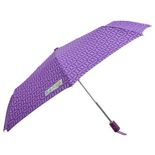 [Taiwan's Wenchuang Rain's talk] turn over geometric anti-UV tri-fold automatic umbrella