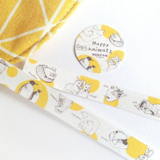 Happy Animals Happy Animal Paper Tape
