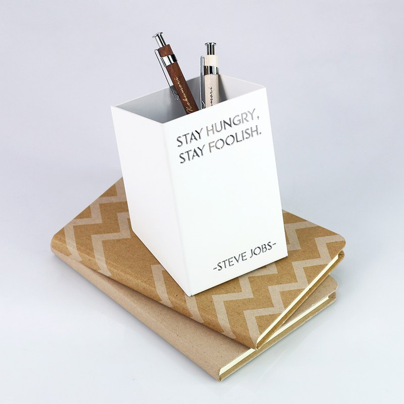 [OPUS Dong Qi Jingong] European wrought iron famous pen holder - Jabers (white) / pen insert / stationery storage