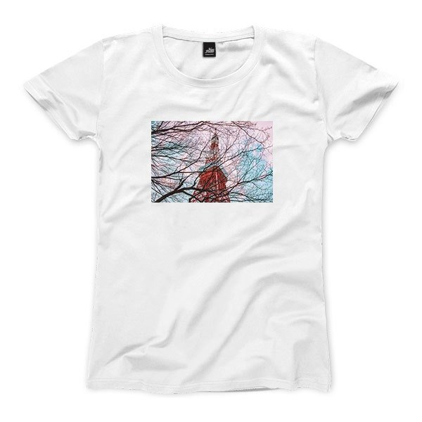 Tokyo の Tower - White - female version T-shirt