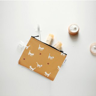 Small day tarpaulin cosmetic bag M-20 Lane Cat, E2D10508