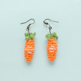 Earrings crochet fruit | The Carrot