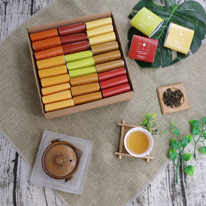 Formosan Farms都會甜蜜全茶葉禮盒/27入(手捧親送/高級白封套款)