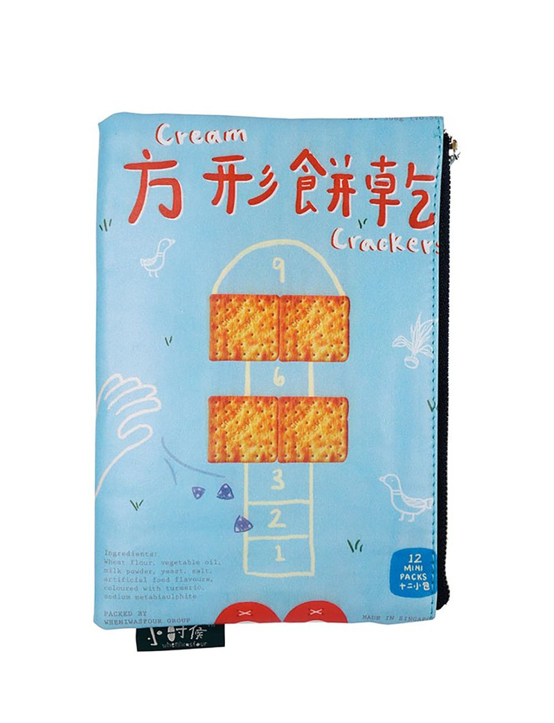方形饼干 Cream Cracker Snack Pouch