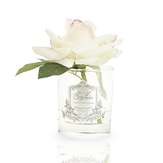 CoteNoire Fragrance Flower - Big Pink White Rose Fragrance Flower