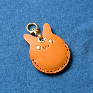 Animal Series - Access Key Induction Buckle Leather Case (Rabbit)