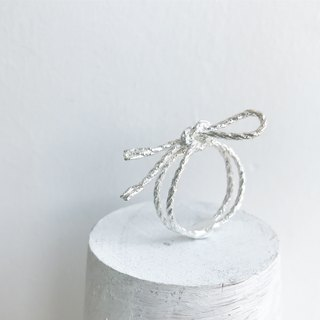 Tied up Ring ▪ Rope Series Sterling Silver Ring