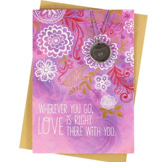 Love will always be with you [Hallmark - Creative Handmade Card Birthday Blessing]