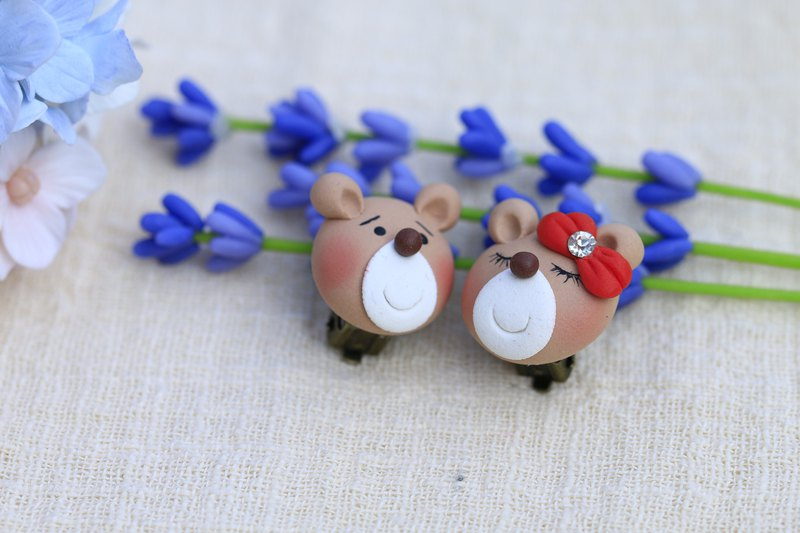 Cute darling baby ear clip