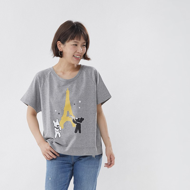 Gaspard et Lisa Eiffel Tower T-shirt Top - 20th Anniversary Taiwan Limited