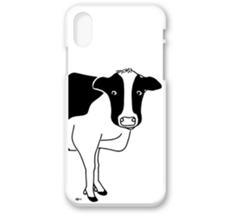 Cow is watching Animal illustrations iPhone iPhone case various