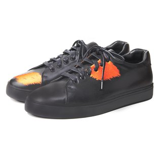 Great Black Carp M1181 Leather Sneaker