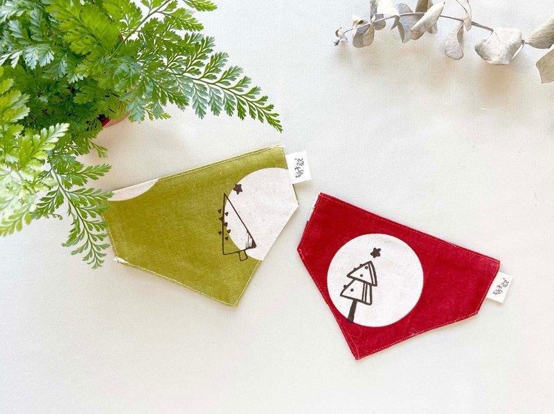[Christmas Limited] Little Tree Pet Scarf